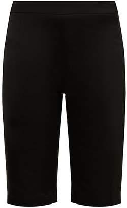 Wales Bonner High-rise tailored satin shorts