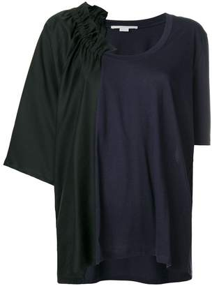 Stella McCartney asymmetric neck T-shirt