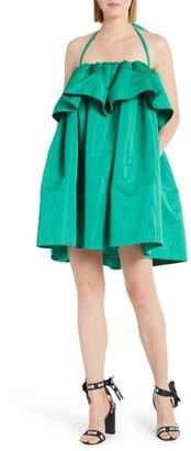 MSGM Popover Halter Dress
