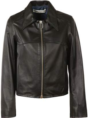 Golden Goose Zip-up Leather Jacket