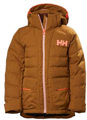 Helly Hansen Jr. Leah Waterproof & Windproof 480-Fill Power Down Jacket