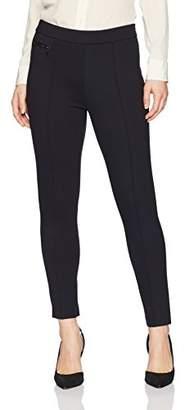 Ellen Tracy Women's Petite Size Legging W/Zip Pocket Detail