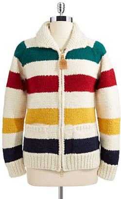 HBC Hudson'S Bay Company Women's Canadian Hand Knit Classic Sweater