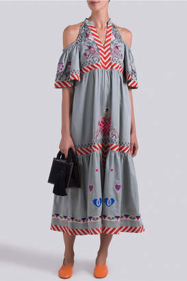 Temperley London Divine Off Shoulder Dress