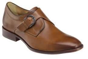 Johnston & Murphy McClain Leather Monk-Strap Dress Shoes