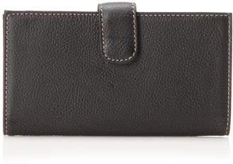 Mundi Rio Leather Checkbook Cover Wallet