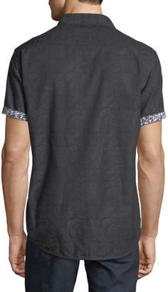 Robert Graham Men's Bell Gardens Paisley Sport Shirt