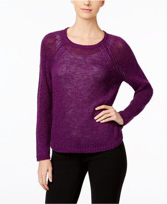Eileen Fisher Jewel-Neck Sweater $168 thestylecure.com