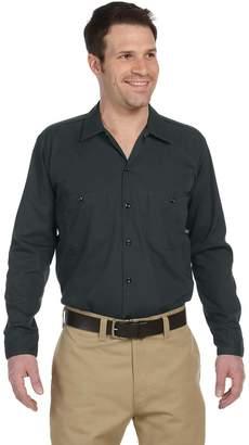 Dickies Men's 4.25 oz. Industrial Long-Sleeve Work Shirt, 4XL