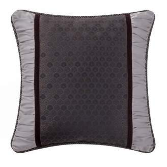 Marquis by Waterford Pierce woven scallop body 16x16 Decorative Pillow