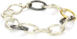 "Gurhan Hoopla"" with High Karat Gold Accents Bracelet"