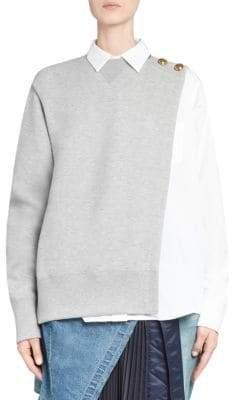 Sacai Combo Sweatshirt