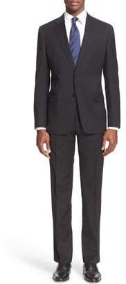 Men's Armani Collezioni 'G-Line' Trim Fit Solid Wool Suit $1,695 thestylecure.com