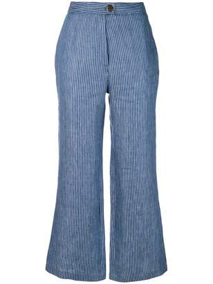 Mara Hoffman striped cropped trousers
