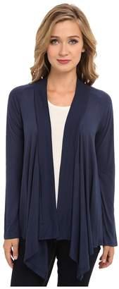 Splendid Exclusive Very Light Jersey Drape Cardigan Women's Sweater
