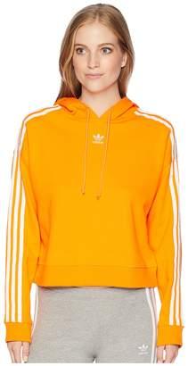 adidas Cropped Hoodie Women's Sweatshirt