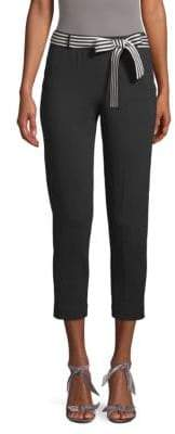 Loro Piana Belted Cropped Pants