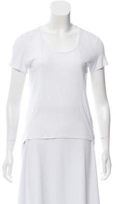 Leith Short Sleeve High-Low Top