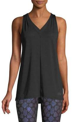 The North Face Vision V-Neck Performance Tank w/ Mesh
