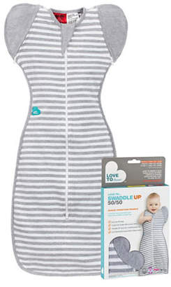 Love To Dream 50/50 Striped Swaddle Up Large Sleep Bag