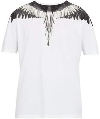 Marcelo Burlon County of Milan Wings Print T Shirt - Mens - White Black