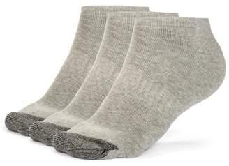 Galiva Men's Cotton ExtraSoft Low Cut Cushion Socks - 3 Pairs