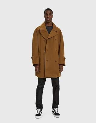 YMC Oversized Double Breasted Coat