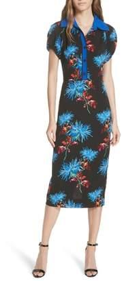 Diane von Furstenberg Elly Floral Dress