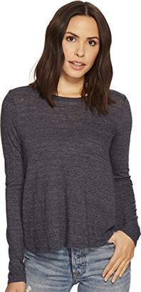 Three Dots Women's Nepps Jersey l/s Short Loose Shirt