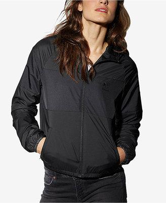 Reebok Zip Hooded Windbreaker $65 thestylecure.com
