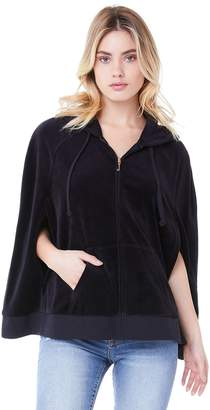 Juicy Couture Velour Juicy 3-Star Cape Jacket