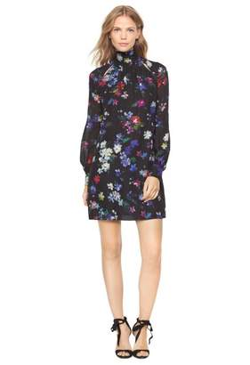 Milly Painted Floral Sherie Dress