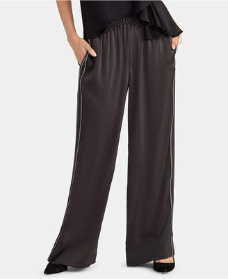 Rachel Roy Zig Zag Wide-Leg Pants