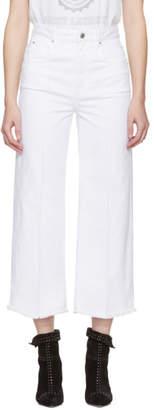 Etoile Isabel Marant White Cabrio Wide-Leg Jeans