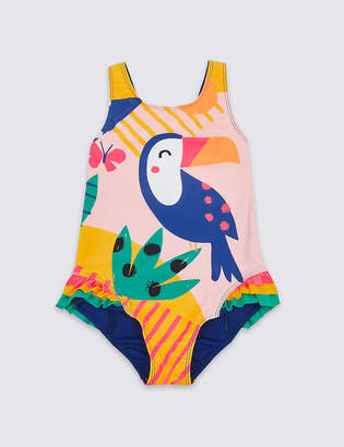 Marks and Spencer Swimsuit with Sun Smart UPF50+ (3 Months - 7 Years)