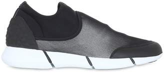 Elena Iachi 20mm Neoprene & Leather Sneakers