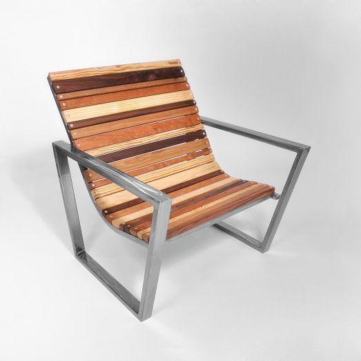 west elm Slatted Wood Chair
