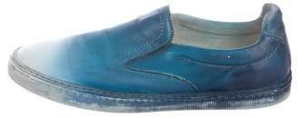 Maison Margiela Gradient Leather Sneakers