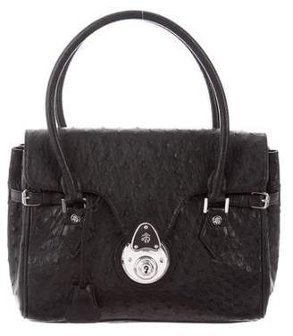 Brooks Brothers Ostrich Handle Bag