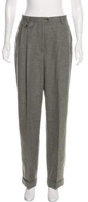 Lauren Ralph Lauren Wide-Leg Wool Pants