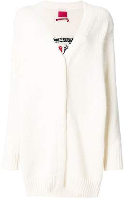 Moncler Gamme Rouge long line cardigan