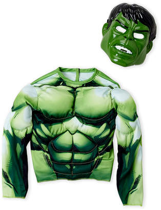 Marvel Boys) Two-Piece Avengers Assemble Hulk Costume Set