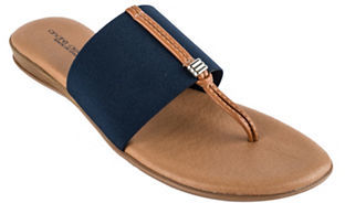 Andre Assous Nice 2 Thong Sandals $89 thestylecure.com