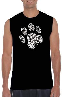 5d5ee170f5803e Los Angeles Pop Art Big Men s Sleeveless T-Shirt - Dog Paw