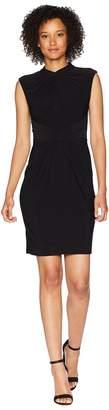 Adrianna Papell Matte Jersey Sheath Dress Women's Dress