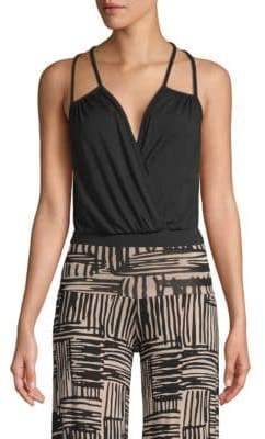 Rachel Pally Coty Double-Strap Bodysuit