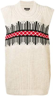 Isabel Marant front pattern sweater
