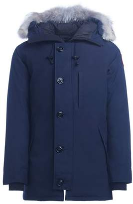 Canada Goose Chateau Blue Parka With Hood