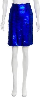 Kenzo Sequin Knee-Length Skirt