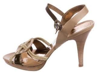 Tahari Stephi Leather Sandals